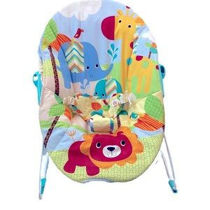 Bright starts baby sitter bouncer jungle theme